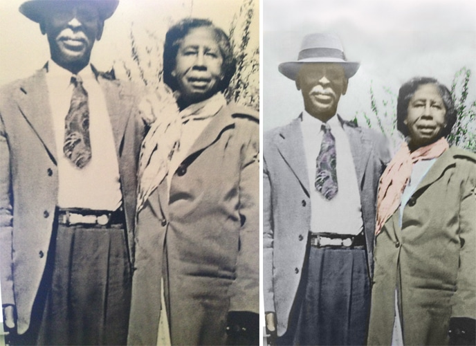 Photo Restoration old,torn and faded,photos Bring
