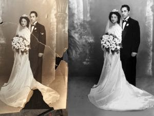 Complex Photo restoration