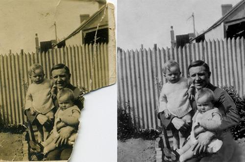 photo Restoration Canada