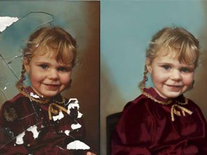 Photo Restoration - restore old photos