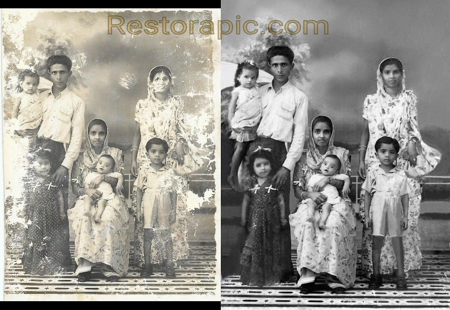 Restorapic photo restoration